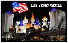 Las Vegas Castello - souvenir gadget CALAMITA FRIGO - NUOVO - REGALO