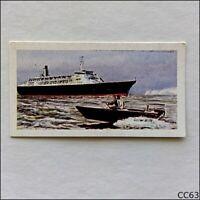 Primrose Card Queen Elizabeth 2 Cunard Line 1969 #31 (CC63)
