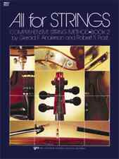 """""""All For Strings"""" Book 2 Cello Brand New Music Book Elementary Method On Sale!"""