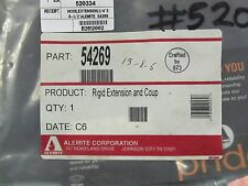 "ALEMITE 54269 GREASE GUN RIDGID EXTENSION 8"" OAL 1/8"" MALE NPTF"