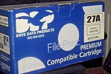 PREMIUM COMPATIBLE for HP 27A (C4127A) BLACK TONER CARTRIDGE 27X LASERJET 4000