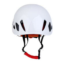 Safe Rock Climbing Downhill Caving Rappelling   Helmet Protector-White