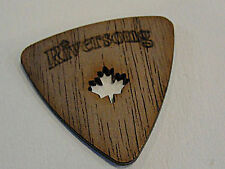 RIVERSONG WOODEN GUITAR PICKS 1.50 MM WALNUT POWER TRI Pick MADE IN CANADA 3 PKS