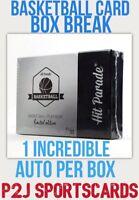Hit Parade 19/20 Basketball Plat. Limited CARD BOX BREAK1 RANDOM TEAM-Break 2945