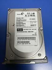 """390-0276-02 SEAGATE 146.8GB Hard Disk Drive 10K 3,5"""" SCSI U320 9X2006-150"""