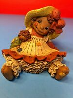 """All God's Children"", Martha Holcombe Figurine Artwork, RagBaby ""IVY"",#3 (1995)"