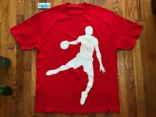 Vintage 2006 Flight Club NY 87 Kiss The Rim Dunk Shirt Red FCNY Mens Size XL