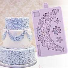 Karen Davies-Zucchero Fiore Ghirlanda-decorazione per torta Sugarcraft Fondente Muffa