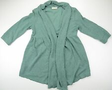 PINS AND NEEDLES soft green elbow length sleeve open cardigan size M