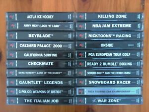 Video Games Bundle Collection Sony PlayStation One PS1