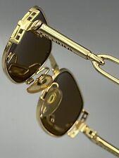 New listing Rare Nos Charro by Caviar Gold steampunk Nos 90s sunglasses 53-22