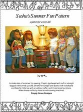 Sasha and Gregor's Summer Fun Sewing Pattern Wardrobe ~ Simply Grace Designs