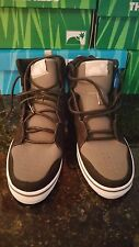 Men's Shoes, The Hundreds, Riley High, Black, Size 9