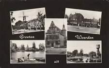 Ansichtkaart Nederland : Woerden - Groeten uit ..... (boxb0503)