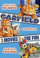 Garfield - The Movie/ Garfield 2 - Tale Of Two Kitties/ Garfield Gets Real DVD
