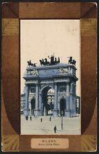 AX0679 Milano - Arco della Pace - Cartolina postale - Postcard