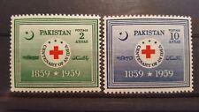 PAKISTAN CLASSICS  Red Cross  1959 mi.nr 104-5 mint