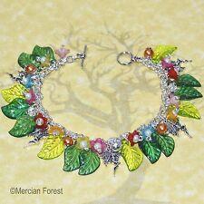 Flower Fairy Bracelet - Pagan Jewellery, Fae, Wiccan, Witch