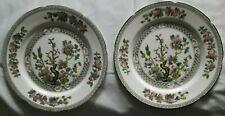 "Royal Grafton ""Indian Tree"" side plates"