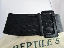 Original Reptile's House Damengürtel aus Leder mit Schliesse breit neu RHL-7