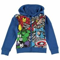 MARVEL AVENGERS:2016 FULL ZIP HOODY,3/4,4/5,5/6,7/8,9/10yr,NEW WITH TAGS