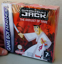 Jeu SAMURAI JACK sur Nintendo Game Boy Advance GBA NEUF sous blister