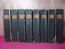 MÉMORIAL DE SAINTE-HÉLÈNE Comte de Las Cases 8/8 vols + 3 plans ( rare) 1823/24
