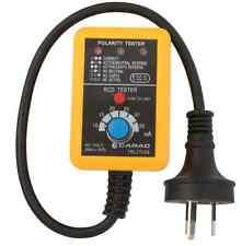 CABAC POWER POINT GPO TESTER V2 RCD TRIP AUSTRALIA POWER OUTLET 230V 10AMP NEW