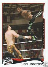 Kofi Kingston 2014 WWE Topps Trading Card #29
