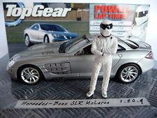 Minichamps 1:43 Mercedes-Benz McLaren SLR Silver with Sig Figurine 433300
