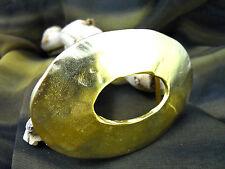 "Fashion Metal Belt Buckle-Polished Gold Tone Finish-1 1/2"" Bar"