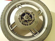 Yamaha XS 400 TYP 12E Vorderrad Rad Bremsscheibe Steckachse Tachoantrieb Felge