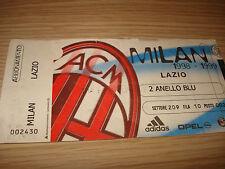 Billet Ticket Série à 1998/1999 AC Milan Lazio 22/11/1998 2° Bague Bleu