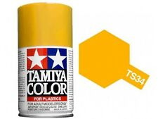 Tamiya TS-34 CAMEL YELLOW Spray Paint Can  3.35 oz. (100ml) 85034