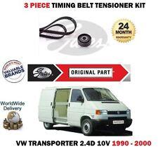 Pour VW Transporter AAB 2.4D 10 V T4 78bhp 1990-2000 TIMING CAM Tendeur de Courroie Kit