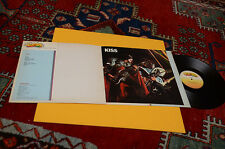 KISS LP ONLY ITALY 1982 GATEFOLD COVER AND BOOKLET NM TOP COLLECTORS