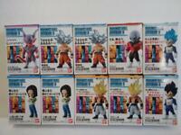 BANDAI DRAGON BALL Z Super ADVERGE 6 Mini Figure All 7 type 10 piece set