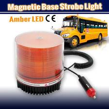Emergency Car Beacon Strobe Amber LED Light Flashing Warning Lamp 12V Rotating
