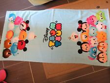 Disney Tsum Tsum Cotton Bath Towel 3 pieces set