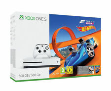 XBOX ONE S PLUS 2 GAMES!! 500GB Console Forza Horizon 3 Hot Wheels