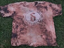 SHINEDOWN Nation 2012 Tour UNISEX 2xl.Sized Shirt WORN Bleached Trashed