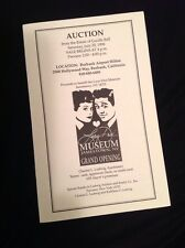 Lucille Ball Desi Arnaz July 20, 1996 Estate Auction Catalog I LOVE LUCY
