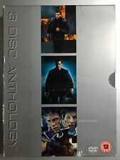 Bourne Identity + Supremacy + Paycheck DVD Box Set Action Thriller Triple Bill