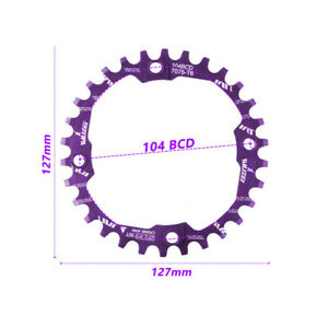 30T Positive and Negative Tooth Plate Mountain Bike Tooth Plate 7075 Aluminum A