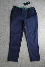 Fred Perry Cropped Women Chino Carbon Blue Size UK 8