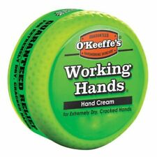 O'Keeffe's Working Hands Hand Cream 96g Jar Dry Cracked Skin Care Moisturiser
