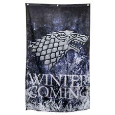 New listing Game Of Thrones Stark Flag Banner 3x5Feet Decor Wall Banner