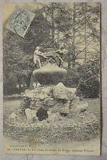 """CPA """" TROYES - Le Vin (Vase en bronze de Briden, sculpteur Troyen)"""