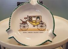 Vintage Ashtray Scroll-Arched Caleche Coach