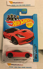 '14 Corvette Stingray #205 * RED * 2013 Hot Wheels * z13